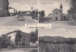Veneto - Treviso - S. Zenone Degli Ezzelini -  Saluti Da S. Zenone - 4 Vedute   - F. Grande - Viagg. - Anni 50 - Bella - Italie