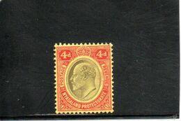 NYASSALAND 1908 * - Nyassaland (1907-1953)