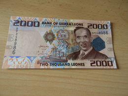 Bank Of Sierra Leone 2000 Leones 2010 Unc - Sierra Leone