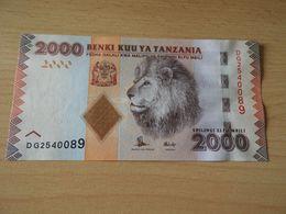 Tanzania 2.000 Shilingi  Ohne Datum Sign.15 - Tanzania