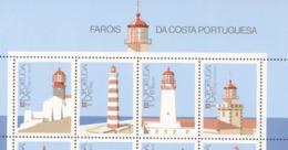 1723 - 1726 Leuchttürme Briefmarkenausstellung  MNH ** Postfrisch - 1910-... Republik