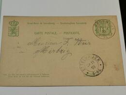 Entier Postaux, Oblitéré Grosbous Et Ettelbruck 1893 - Ganzsachen