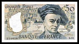 50F Quentin De La Tour - 1988 - B 51 - Pr Neuf - Fay : 67.14 - 1962-1997 ''Francs''