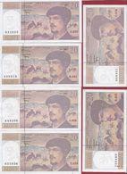 "20 Francs ""Debussy"" 1997--UNC/NEUF ---10 BILLETS ALPH-050-051-052-053-054-055-056-057-060-061-062 - 1962-1997 ''Francs''"