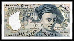 50F Quentin De La Tour - 1991 - C 63 - Pr Neuf - Fay : 67.17 - 1962-1997 ''Francs''