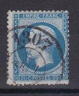 NAPOLEON N° 22 CACHET BUREAU DE PASSE COTE 30€ - 1862 Napoleon III