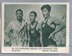 Xe Olympische Spelen Los Angeles 1932. Philippijn Ildefonzo. Japanners Kioke En Tsuruta. - Other