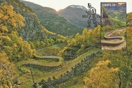 Norway 2020 - Europa 2020 - Ancient Postal Roads, Vindhellavegen Maximum Card - Ganze Jahrgänge