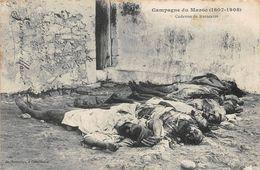 Cadavres Guerre Campagne Du Maroc Boussuge Casablanca - Otros