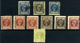 Filipinas Nº 141, 144, 150, 132/33, 135, 138, 142, 145, 149. Año 1898 - Philipines