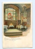 Y8982/ Hamburg Rathsweinkeller Litho AK Ca.1900 - Deutschland