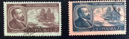 Polska - Poland - Polen - P1/12 - (°)used - 1957 - J. Korzenlowski-Conrad - Michel Nr. 1043#1044 - Used Stamps