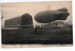 """Le Dirigeable """"Astra-Ville-de-Pau""""-La Sortie Du Hangar - Airships"""
