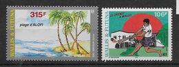 Wallis Et Futuna Poste Aérienne N°203/204 - Neuf ** Sans Charnière - TB - Aéreo