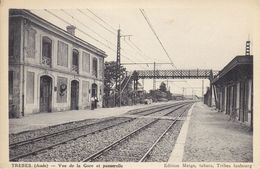 11 - TREBES- (Aude) - Vue De La Gare Et Passerelle - Sonstige Gemeinden