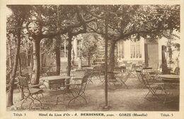 GORZE Hôtel Du Lion D'or - Andere Gemeenten