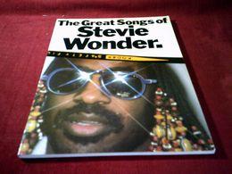 THE GREAT SONGS OF  STEVIE WONDER - Sin Clasificación