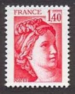 France N°2102 Neuf ** 1980 - France