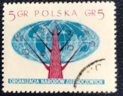 Polska - Poland - Polen - P1/12 - (°)used - 1957 - Verenigde Naties - Michel Nr. 998A - Oblitérés