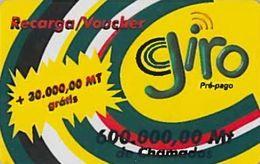 *MOZAMBICO* - Scheda Usata - Mozambique