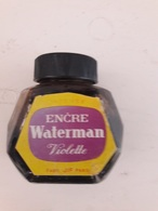 Flacon Encre Waterman (violette) - Inkwells