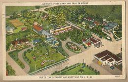 CPA Etats-Unis > GA - Georgia - Aldricht's Pine Camp And Trailer Court - US Route 41 Valdosta - Etats-Unis