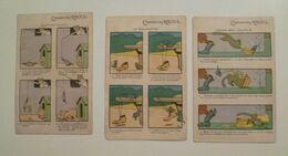 CPA / Lot De 3 Cartes Postales Anciennes Publicitaires / Ill Benjamin RABIER / Chaussures RAOUL - Rabier, B.