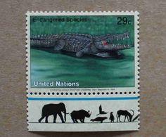 NY94-01 : Nations-Unies (New-York) / Protection De La Nature - Crocodylus Acutus (crocodile Américain) - Unused Stamps