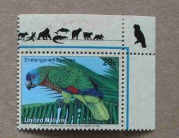 NY94-01 : Nations-Unies (New-York) / Protection De La Nature - Amazona Versicolor (Amazone De Sainte-Lucie) - Unused Stamps