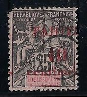 Tahiti N°31 Variété Surcharge à Cheval - Oblitéré - B - Used Stamps
