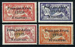 Siria (Francesa) Nº A-18/21 Nuevo* Cat.24€ - Syrie (1919-1945)