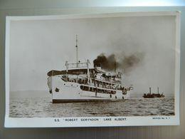 S  S             ROBERT CORYNDON         LAKE ALBERT - Uganda