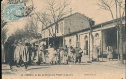 Algerie -- Bouira -- La Rue De Strasbourg Bataille De Cireurs - Other Cities