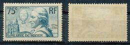 FRANCE - 1936 - Nr 313  - PILATRE DE ROZIER - NEUF - Nuovi