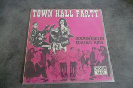 Disque - The Collins Kids - Rockin' Rollin' Collins Kids - Town Hall Party - C C L 1141 - Nederland - 1977 - - Rock