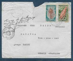 Wallis Et Futuna - Lettre - Mention Timbre Arraché - Other