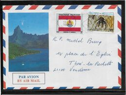 Polynésie - Lettre - Polinesia Francese