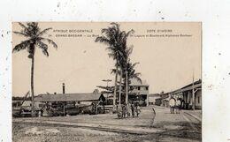 COTE D'IVOIRE GRAND-BASSAM LE BORD DE LAGUNE ET BOULEVARD ALPHONSE BONHAU - Costa De Marfil