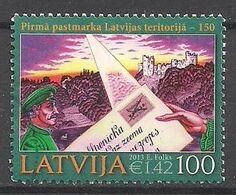 Lettland  (2013)  Mi.Nr.  868  Gest. / Used  (6gj21) - Lettonie