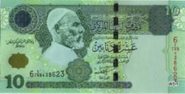 Libya 10 Dinars (P70) 2004 Sign 9 -UNC- - Libië