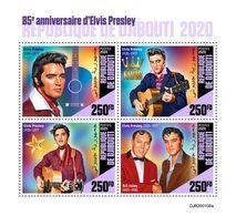 DJIBOUTI 2020 - Elvis Presley, M/S. Official Issue [DJB200108a] - Elvis Presley