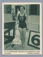 Xe Olympische Spelen Los Angeles 1932. Zwemmen 100 M. Rugslag Dames. Engelse Miss Davies. - Other