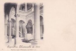 (75) PARIS.  EXPOSITION UNIVERSELLE DE 1900 . Pavillon Royal D' Espagne . Le Patio - Exhibitions