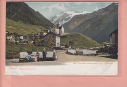 OUDE POSTKAART - ZWITSERLAND - SCHWEIZ -     TRIENT  - 1900'S - VS Valais