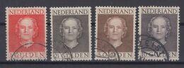Netherlands 1949 - Michel 540-543 Used - Gebruikt
