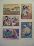 Lot De 5 Cartes Postales Anciennes Publicitaires / Potasse D'Alsace - Advertising