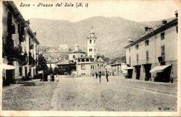 Italia - SUSA - PIAZZA DEL SOLE // ///  1 - Italia