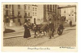 PORTUGAL-POSTCARDS-- COSTUMES--BRAGA-CARRO DE BOIS - Braga