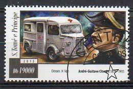 S. TOMÉ E PRÍNCIPE. 2015. CARS. ANDRÉ-GUSTAVE CITRÖEN. CANCELLED (6R1788) - Cars
