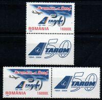 Romania 2004, Scott 4645, MNH With Label, Tarom Romanian Air Transport - Ungebraucht